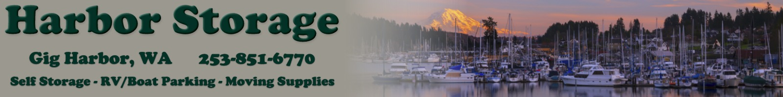 Harbor Storage of Gig Harbor WA